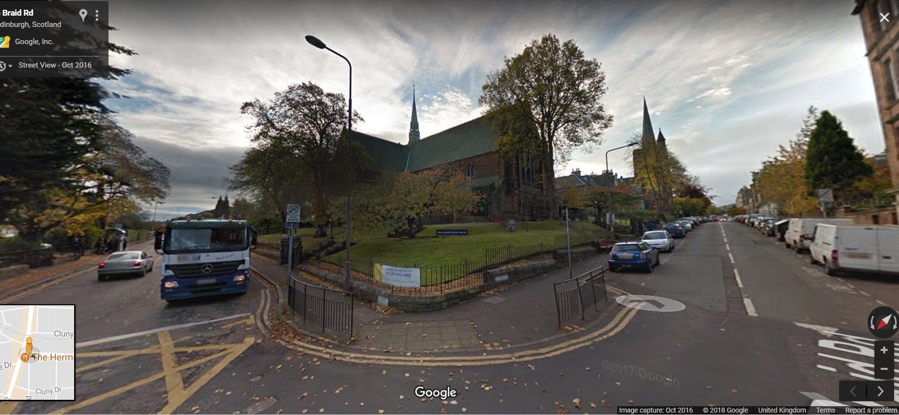 morningside church. google street