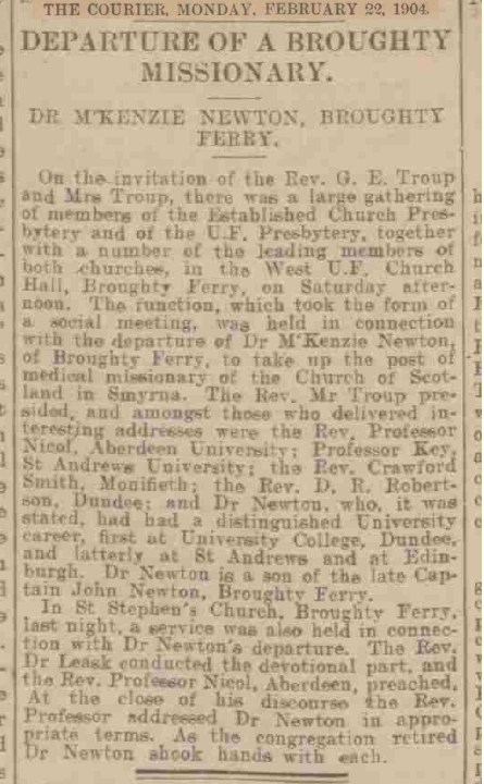 1904 feb 22 broughty missionary leaves