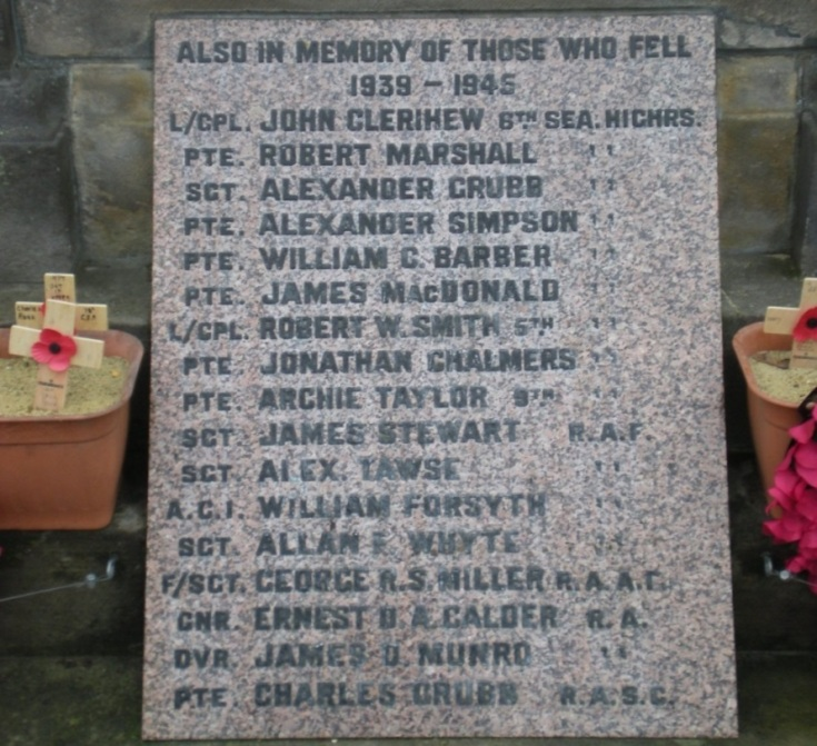 TAYLOR war memorial WW2